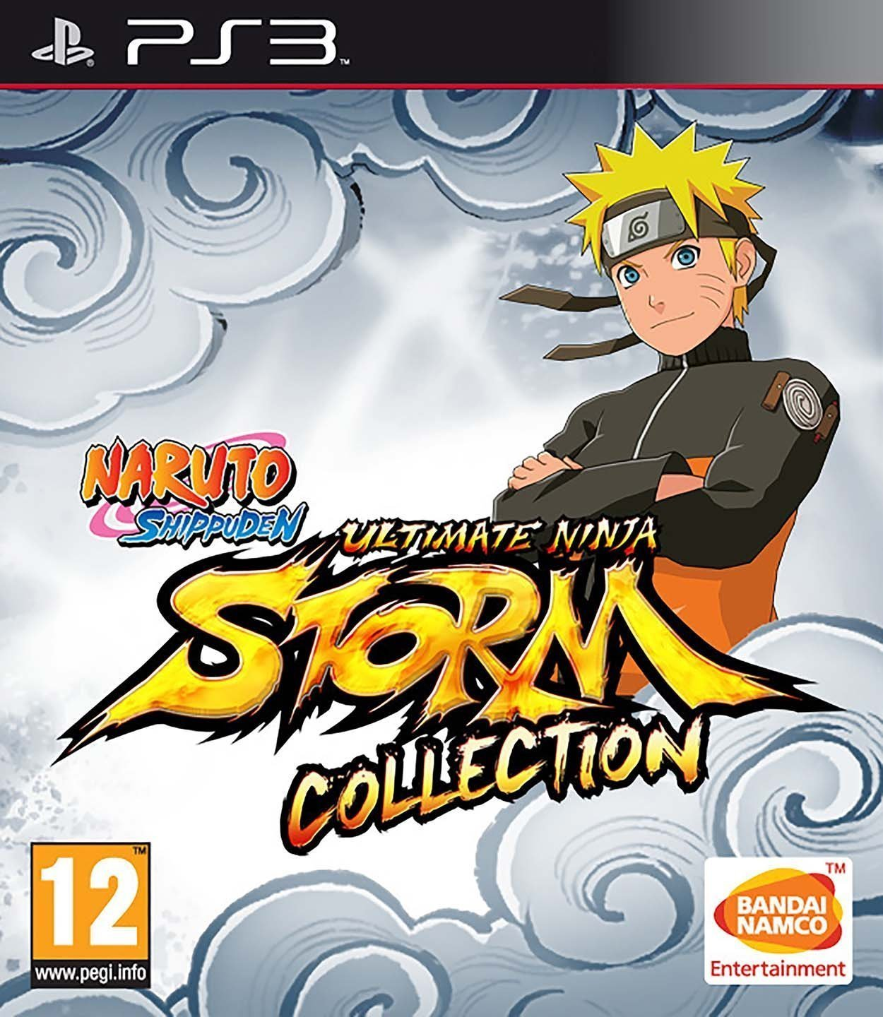 Naruto Shippuden Ultimate Ninja Storm Collection (1 + 2 + 3 Full Burst) for PS3 image