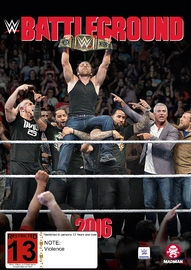 WWE: Battleground 2016 on DVD