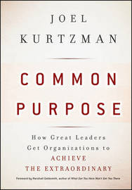 Common Purpose by Joel Kurtzman image
