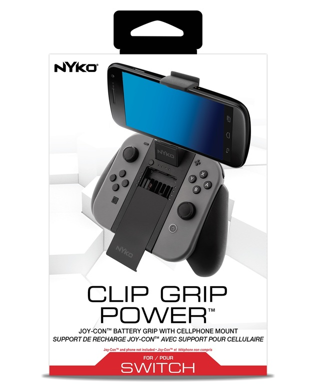 Nyko Switch Clip Grip Power for Switch