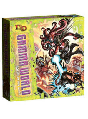 D&D Gamma World Roleplaying Game: A D&D Genre Setting (4th Edition D&D)