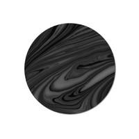 Avant Black Placemat - Round (Single)