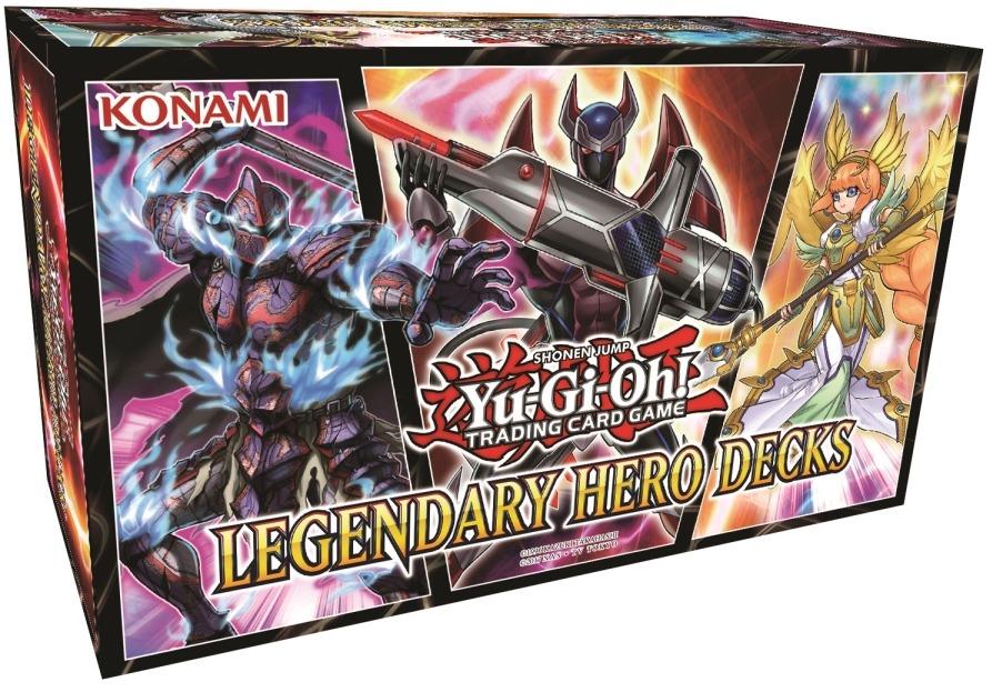 Yu-Gi-Oh! Legendary Hero Decks image