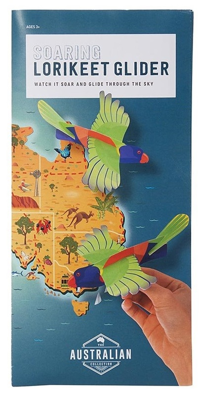 IS Gifts: Australia Collection - Soaring Bird Glider (Assorted Designs)
