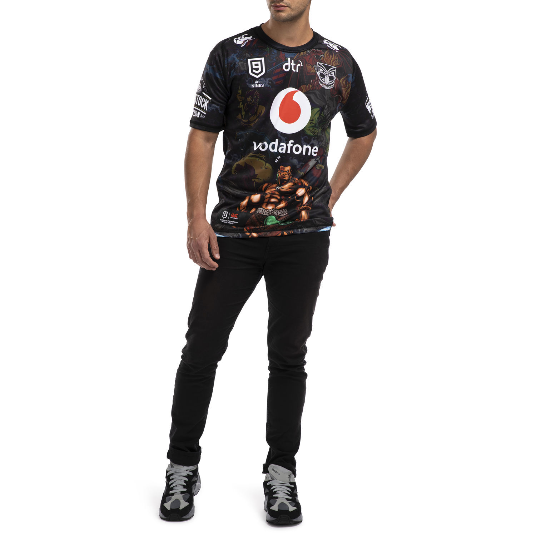 Vodafone Warriors Nines Jersey (L) image