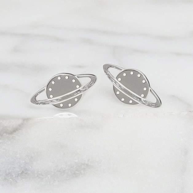 Midsummer Star: Rings of Saturn Studs