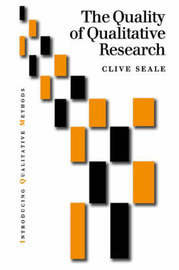 The Quality of Qualitative Research by Clive Seale image