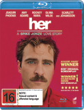 Her on Blu-ray