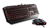 CM Storm Devastator Gaming Bundle (Keyboard & Mouse) - RED backlight for