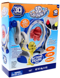 3D Magic: 3D Spinner - Action Theme Pack image