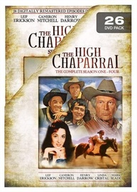 The High Chaparral - Complete Collection on DVD image