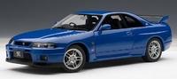 AUTOart 1:18 Skyline R33 GT-R (Blue) Diecast Model