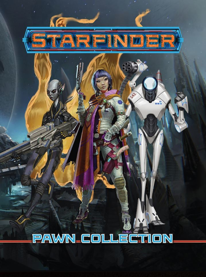 Starfinder RPG Flip Mat: Core Pawn Collection image