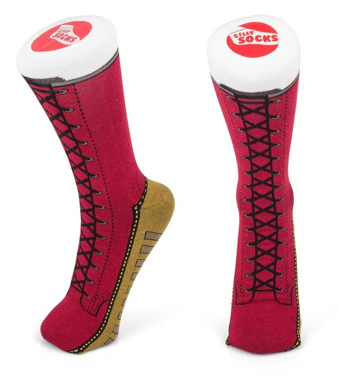 Red Boots - Unisex Socks image