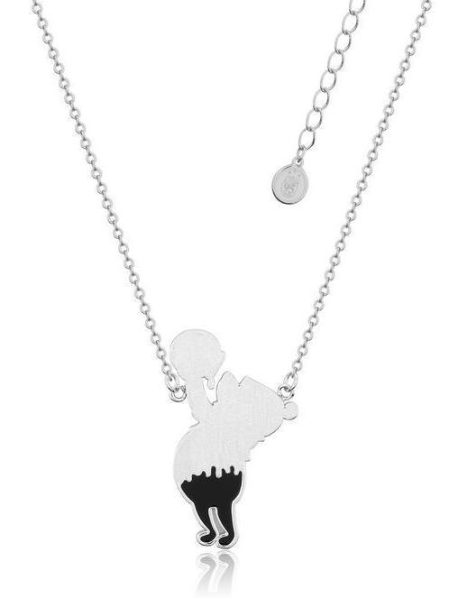 Couture Kingdom: Disney Winnie the Pooh Honey Drip Necklace - Silver