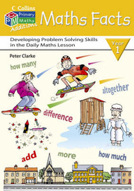 Maths Facts: Y1 by Peter Clarke image