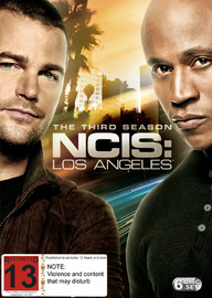 NCIS: Los Angeles - Season 3 on DVD
