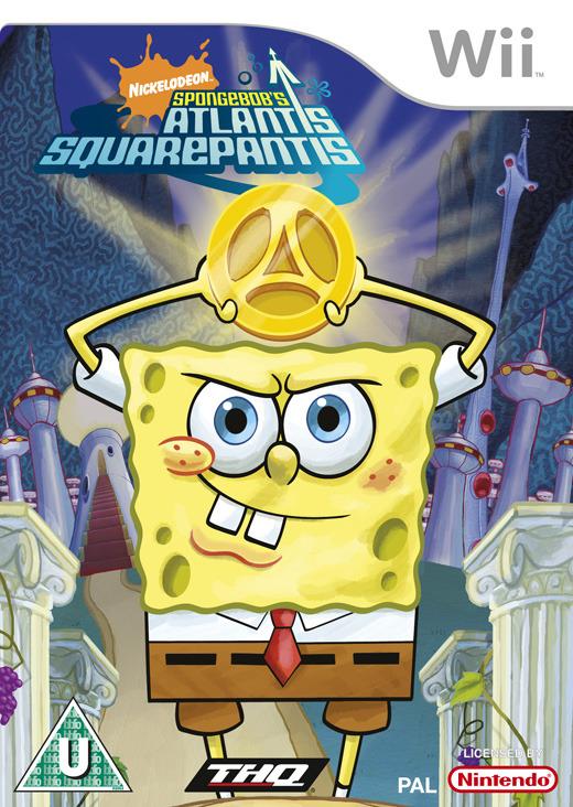 SpongeBob: Atlantis Squarepantis for Nintendo Wii