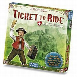 Ticket to Ride: Switzerland (Swiss Map Expansion)
