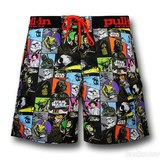 Star Wars Colour Panel Pull In Board Shorts (38)