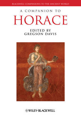 A Companion to Horace by Gregson Davis image