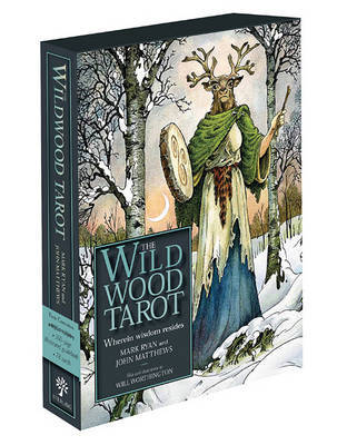 The Wildwood Tarot: Wherein Wisdom Resides (Cards & Book) by John Matthews