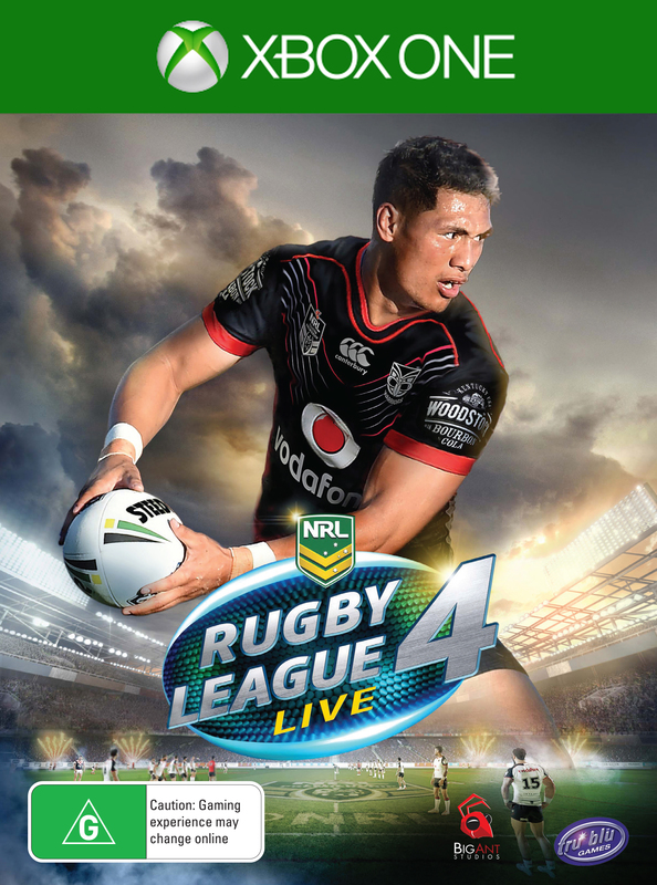Rugby League Live 4 for Xbox One