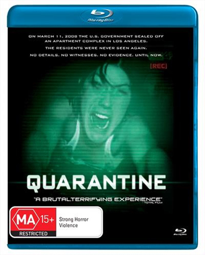 Quarantine on Blu-ray