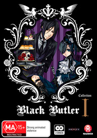 Black Butler (Kuroshitsuji) Collection 1 (2 Disc Set) on DVD