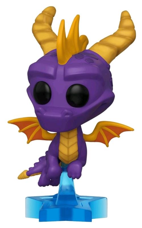Spyro the Dragon: Spyro (Flying Ver.) - Pop! Vinyl Figure