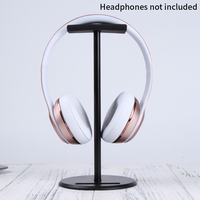 Aluminum Alloy Headset Stand - with Rubber Holder