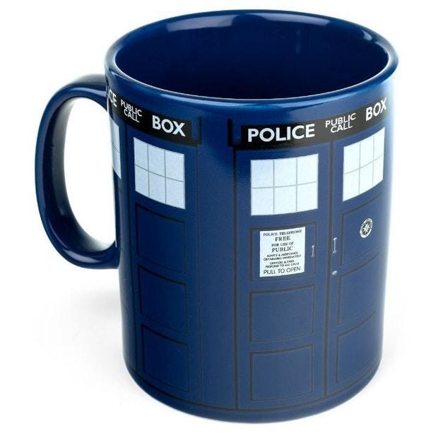 Doctor Who - Tardis Mega Mug