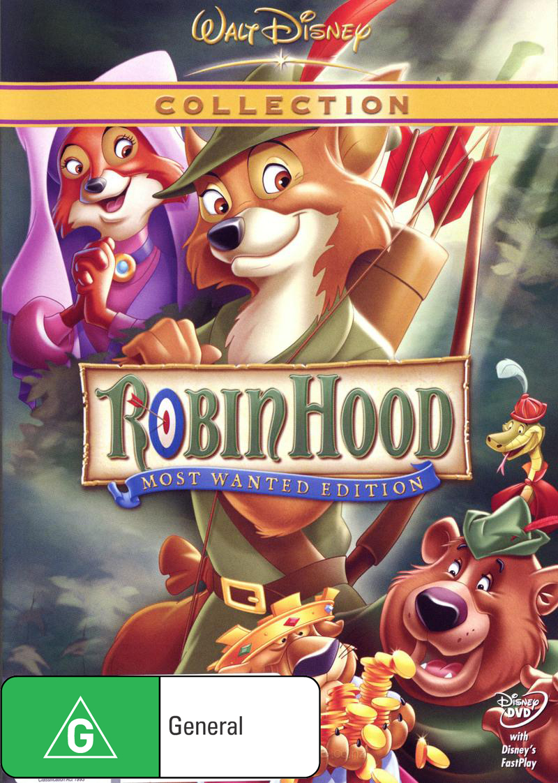 Robin Hood (1973) - Special Edition DVD image