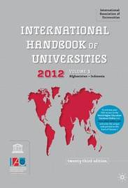 International Handbook of Universities by International Association of Universities