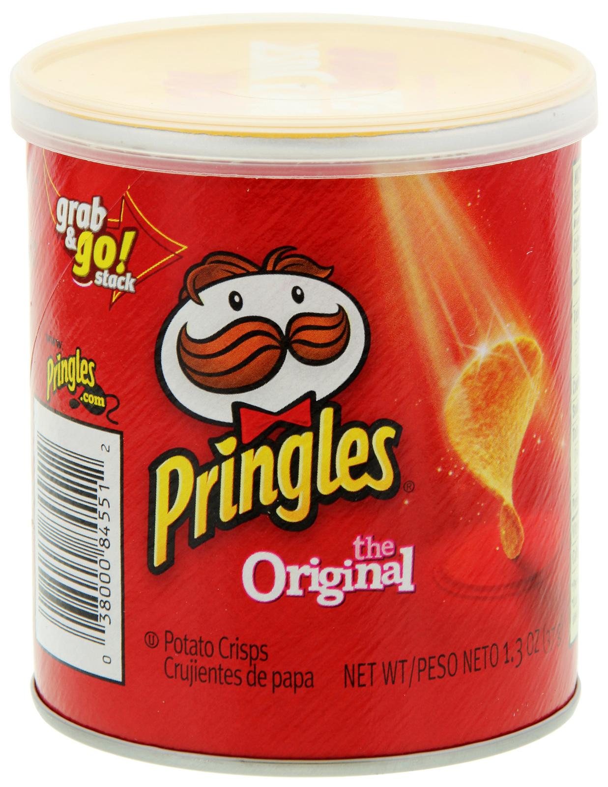 Pringles Grab & Go Small Original 37g (12 Pack) image