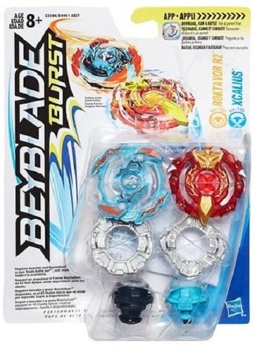 Beyblade: Burst - Roktavor R2 and Xcalius Duo Pack