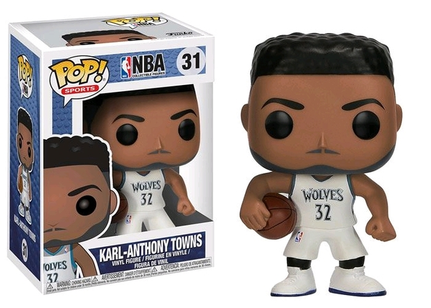 NBA - Karl Anthony Towns Pop! Vinyl Figure
