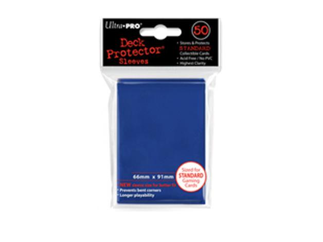 Ultra Pro Solid Deck Protectors: Tsunami Blue (50)