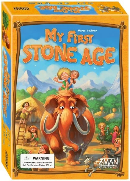 My First Stone Age - Children's Board Game