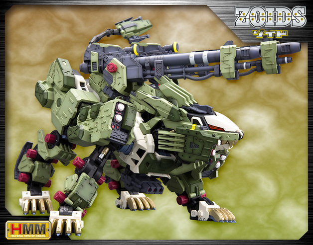 Zoids 1/72 RZ-041 Liger Zero Panzer Marking Plus Ver. - Model Kit