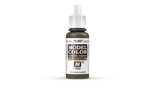 Vallejo Model Colour US Olive Drab 17ml