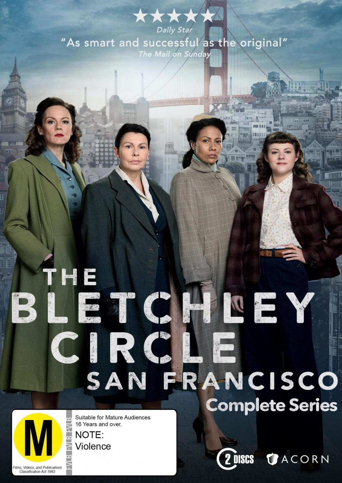 The Bletchley Circle San Francisco: Complete Series on DVD image