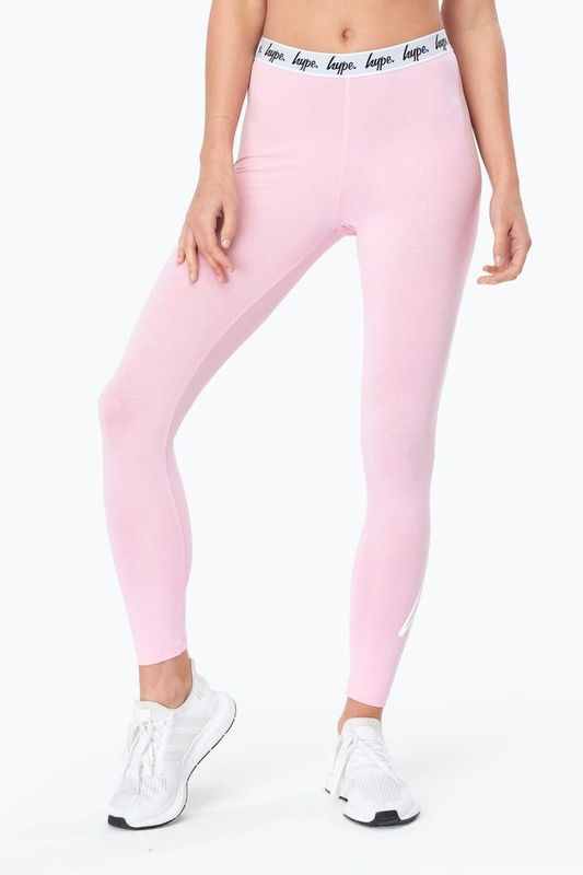 Just Hype: Taped Women's Legging Pink - 14