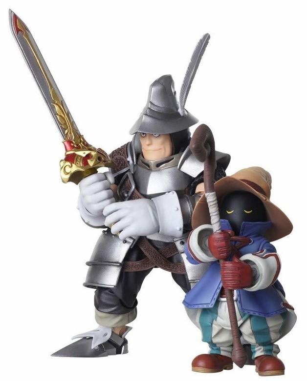 Final Fantasy IX Bring Arts: Vivi & Steiner - Action Figure