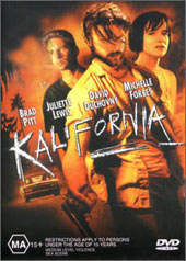 Kalifornia on DVD
