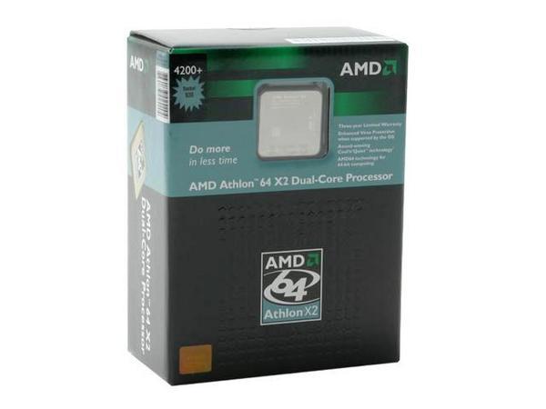 AMD 65W Athlon 64 X2 EE 4200+ Dual Core 64Bit SKT  AM2 2000MHZ Hyper Transport image