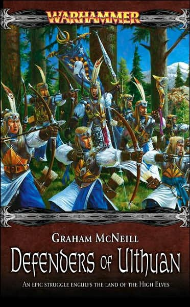 Warhammer: Defenders of Ulthuan by Graham McNeill