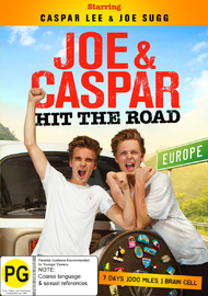 Joe & Caspar Hit the Road Europe on DVD