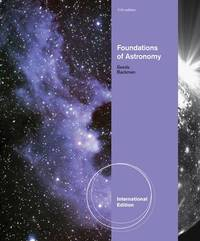 Foundations of Astronomy, International Edition by Michael Seeds image