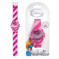 Alice In Wonderland: Cheshire Cat Striped LED Watch